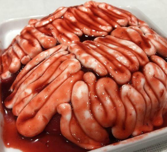 Halloween, Tarta Cerebro