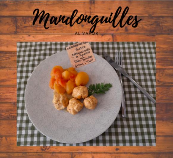 Mandonguilles amb patates guisades 19/03/2020