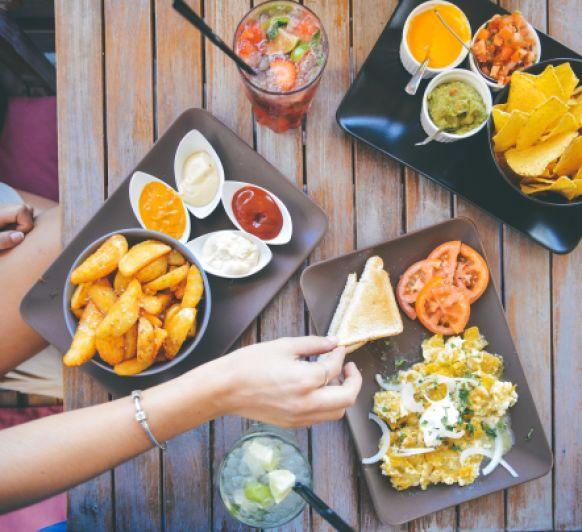 Un menú mexicano