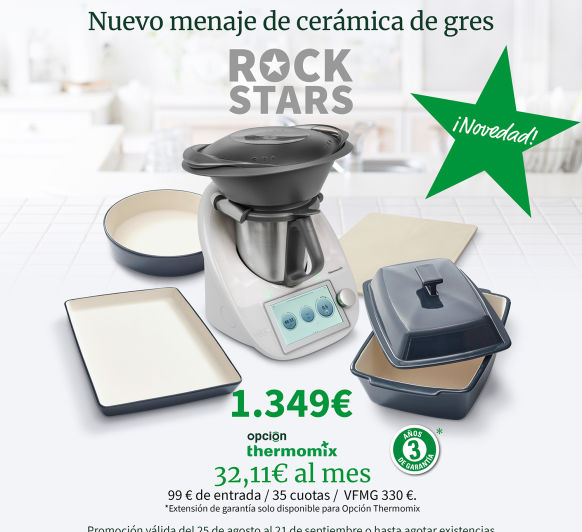 Thermomix® ''ROCK STARS''