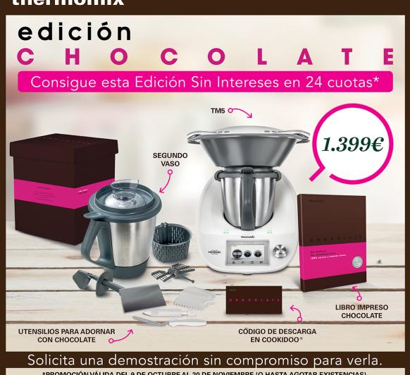 Nueva Edición Chocolate, sin pagar ni un € más.