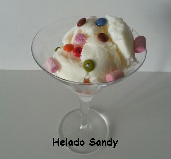 HELADO SANDY