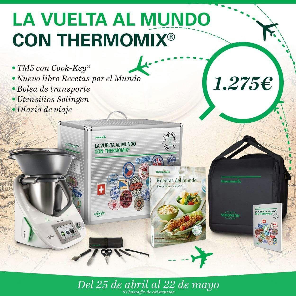ULTIMOS DIAS DE LA EDICION ESPECIAL: LA VUELTA AL MUNDO CON Thermomix®
