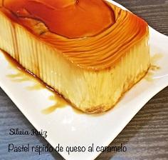 Pastel rápido de queso al caramelo