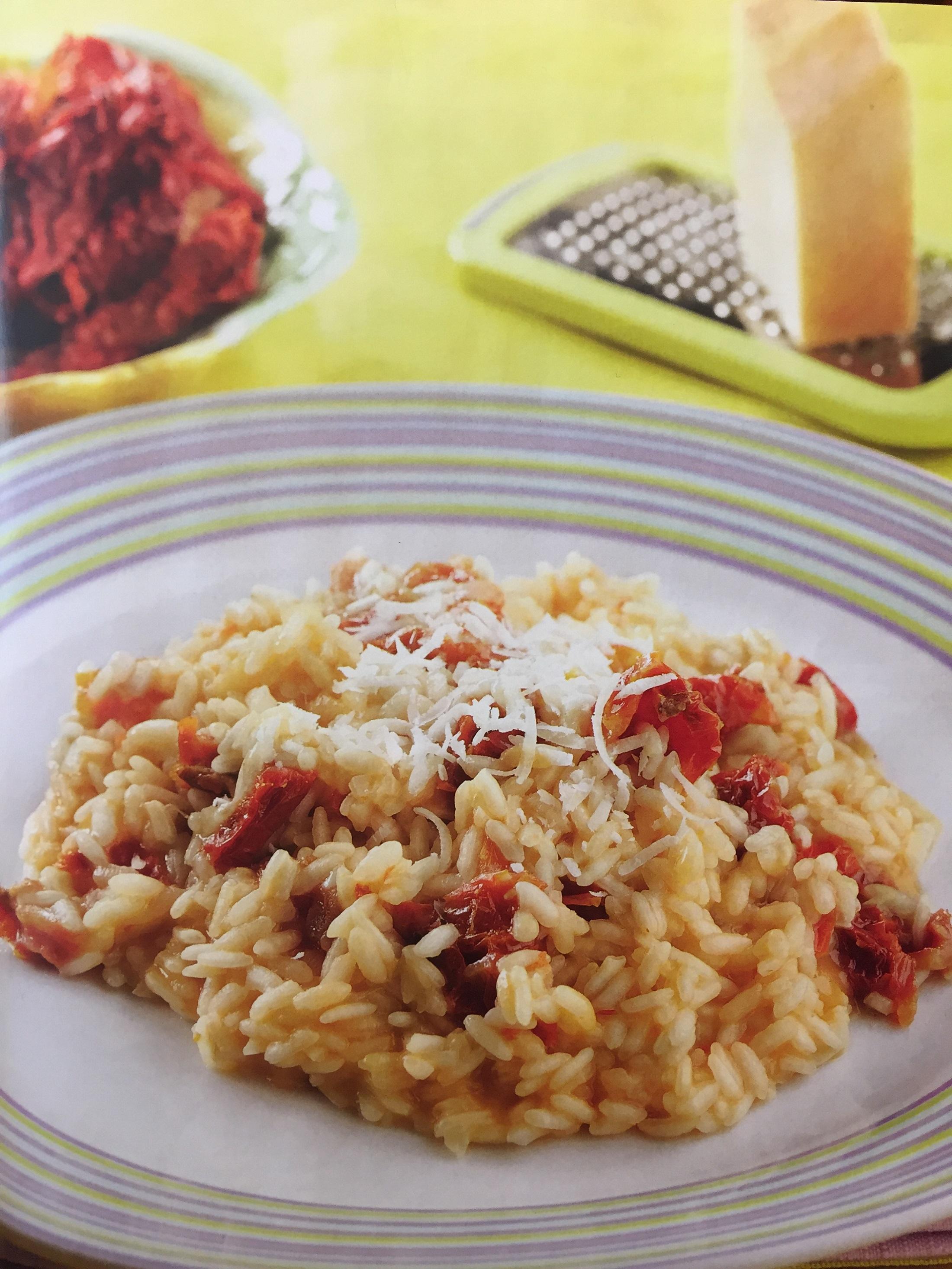 Risotto de tomates secos y parmesano pastas y arroces - Risotto tomate thermomix ...