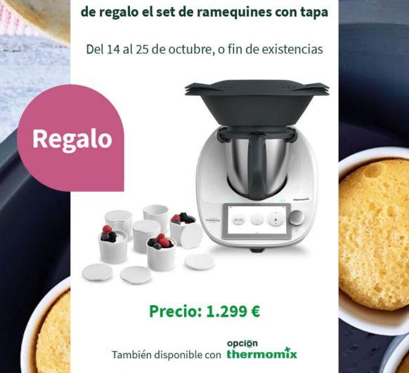 Thermomix® TM6 CON RAMEQUINES Y TAPAS DE REGALO
