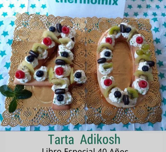 TARTA ADIKOSH ~ 40 Aniversario Thermomix® !!