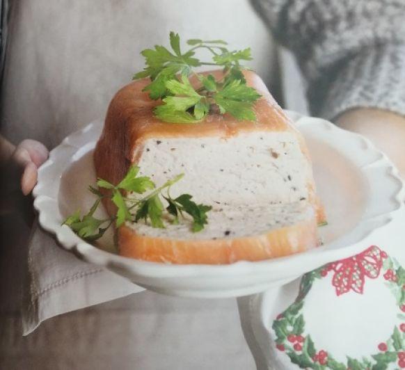 Una receta fácil... Este Paté de jamón y salmón ahumado
