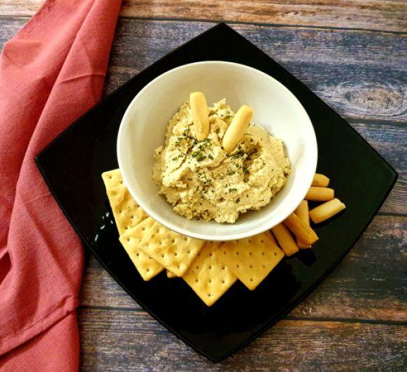 Dip de queso vegano de anacardos
