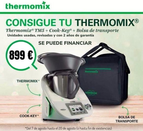 Thermomix® Reutilizadas,Oportunidades que no se repiten!!