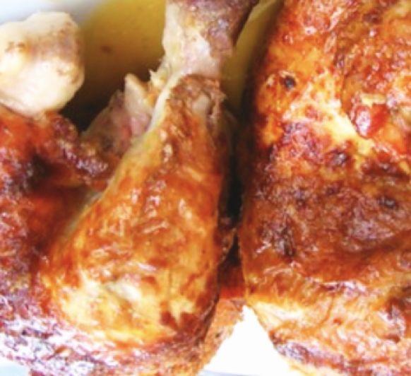 Pollo a l'ast ( Asado) con Thermomix®