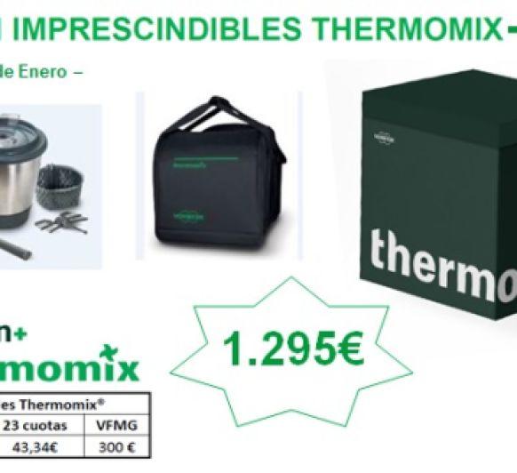 EDICIÓN IMPRESCINDIBLES Thermomix® - LLÉVATE EL DOBLE VASO Y LA BOLSA DE TRANSPORTE!!