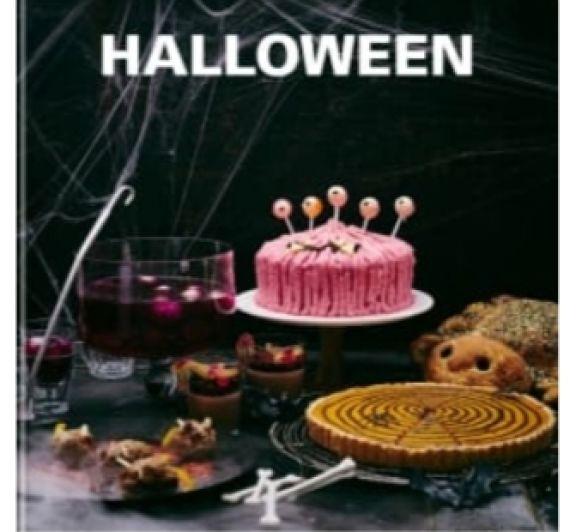 Tarta monstruo rosa~ Receta de Halloween