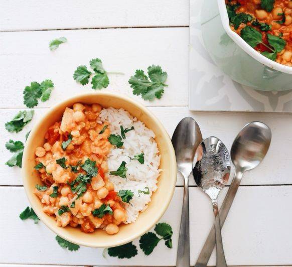 Curry de Garbanzos Thermomix®