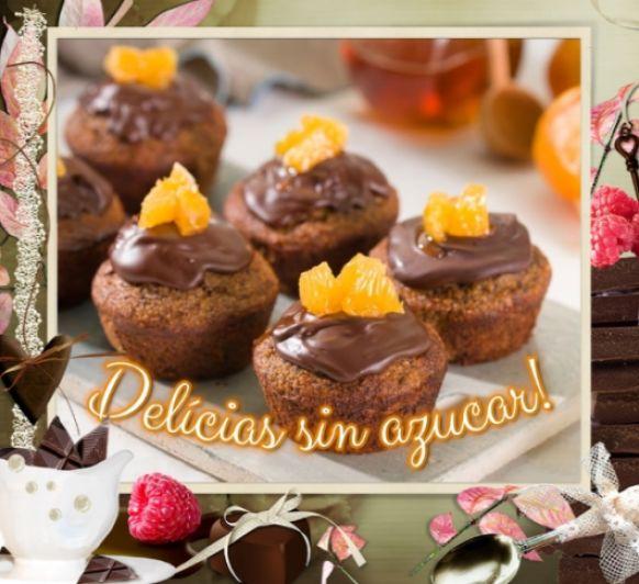 Bocaditos de avena con chocolate y mandarina