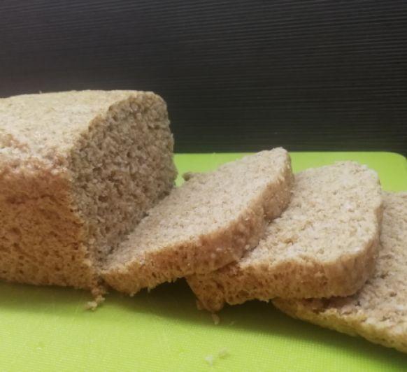 Pan de molde integral al vapor
