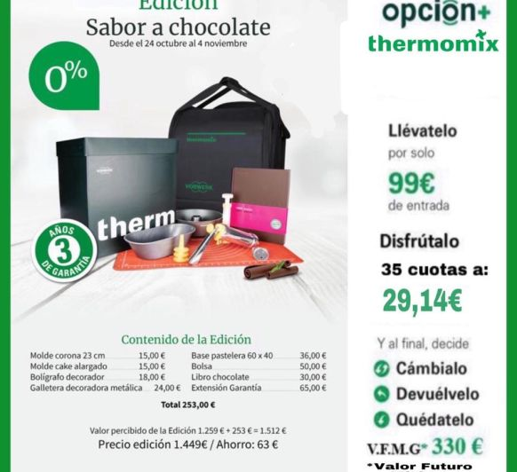 TM6 EDICION CHOCOLATE 0% INTERES!!!!!