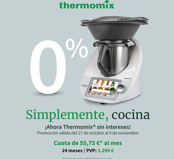 Comprar Thermomix® al 0%! No te lo pierdas