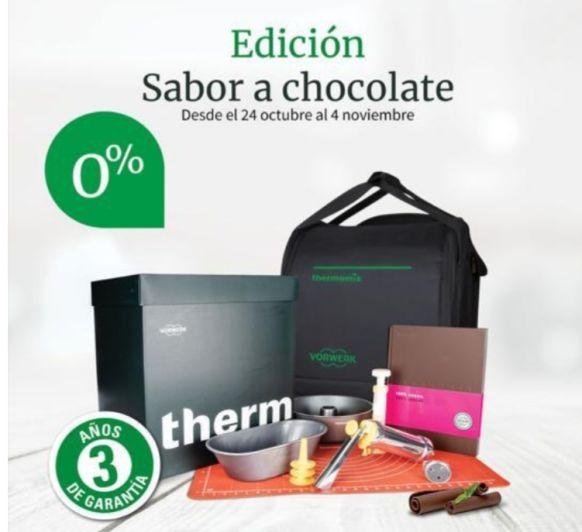 Promoción CHOCOLATE con 0% intereses