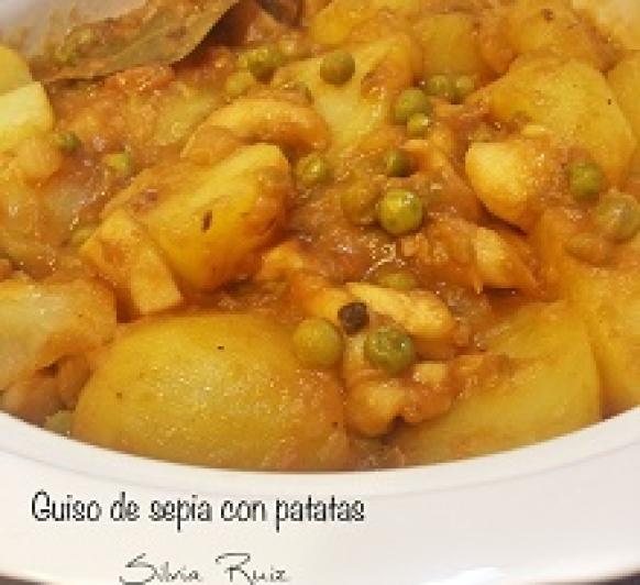 Guiso de sepia con patatas