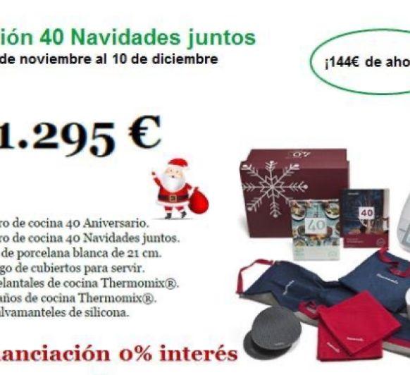 Edición, 40 Navidades Juntos