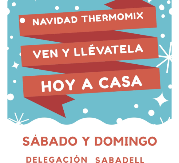 DISFRUTA DE LA NAVIDAD CON Thermomix® !!!!