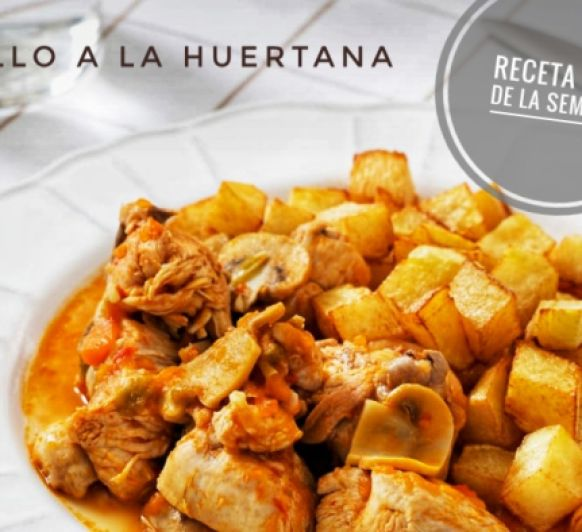 Pollo a la Huertana con Thermomix®