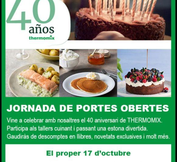 TALLERES 40 ANIVERSARIO DE Thermomix®