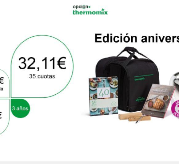 Thermomix® !!! 40 Aniversario.