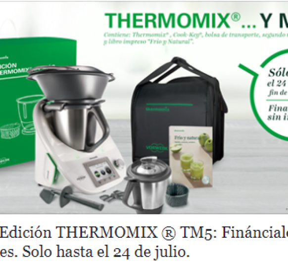 Thermomix® ESTA DE PROMOCION ''FINANCIACION 0%''