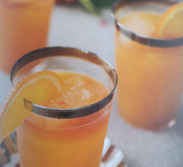 Mocktail de citricos y granadina
