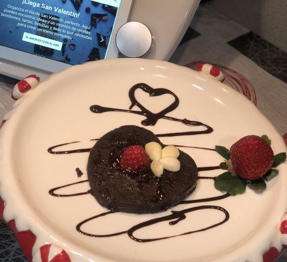 #Pastel de chocolate san Valentín