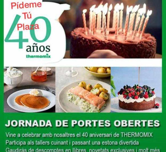 TALLERES DE PUERTAS ABIERTAS 40 ANIVERSARIO