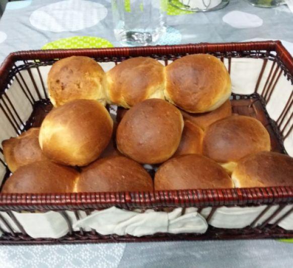 Panecillos para desayuno