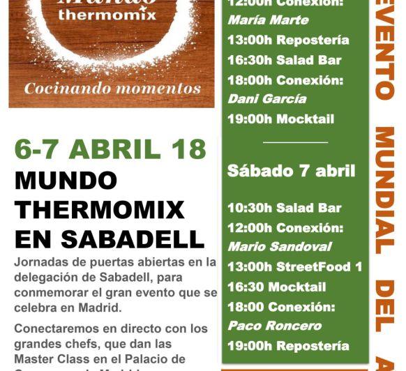 FIN DE SEMANA DE LOCURA EN Thermomix® SABADELL