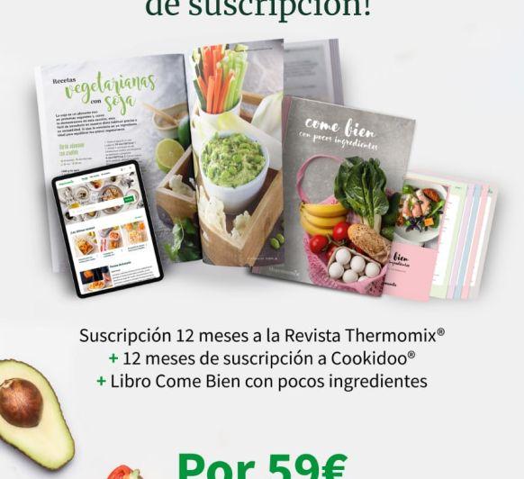 Oferta especial de suscripción COOKIDOO + REVISTA a un precio genial