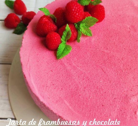 PASO A PASO TARTA DE FRAMBUESA Y CHOCOLATE Thermomix®