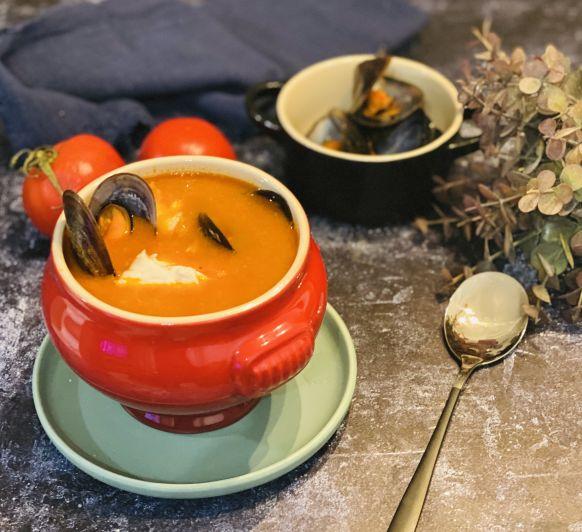 Sopa de pescado y arroz con Thermomix® !!