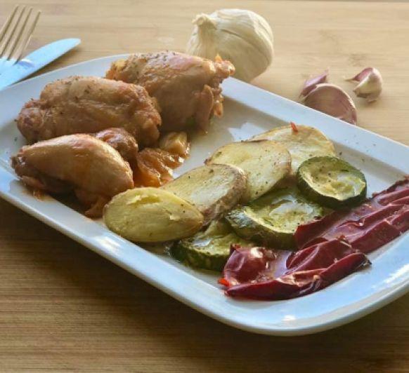 Pollo a la catalana con Thermomix®